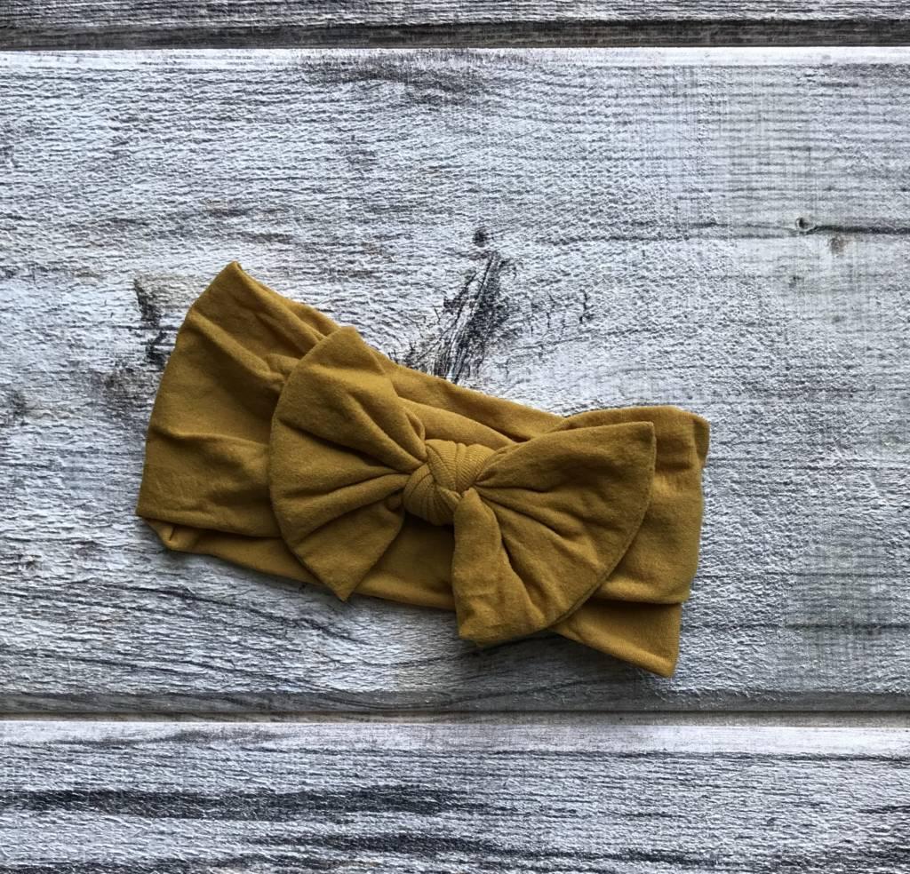 Mini Bretzel Bandeau Pivoine - Choix Couleurs