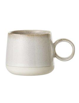 Bloomingville Beige Stoneware Mug