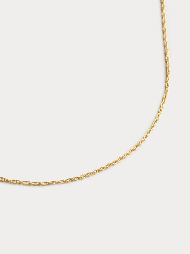 Wolf Circus Collier Corde Or