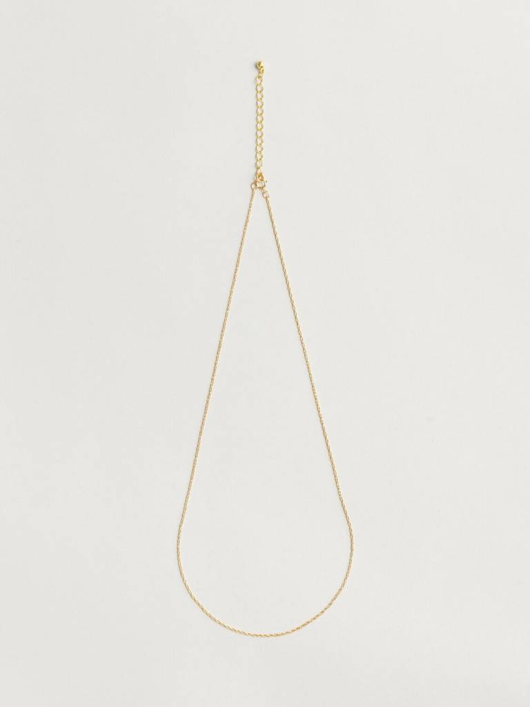 Wolf Circus Gold Chain Necklace