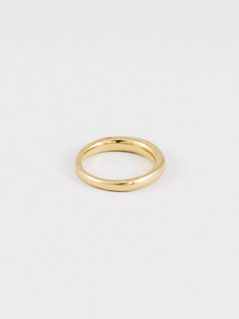 Wolf Circus Emeile Ring in Gold