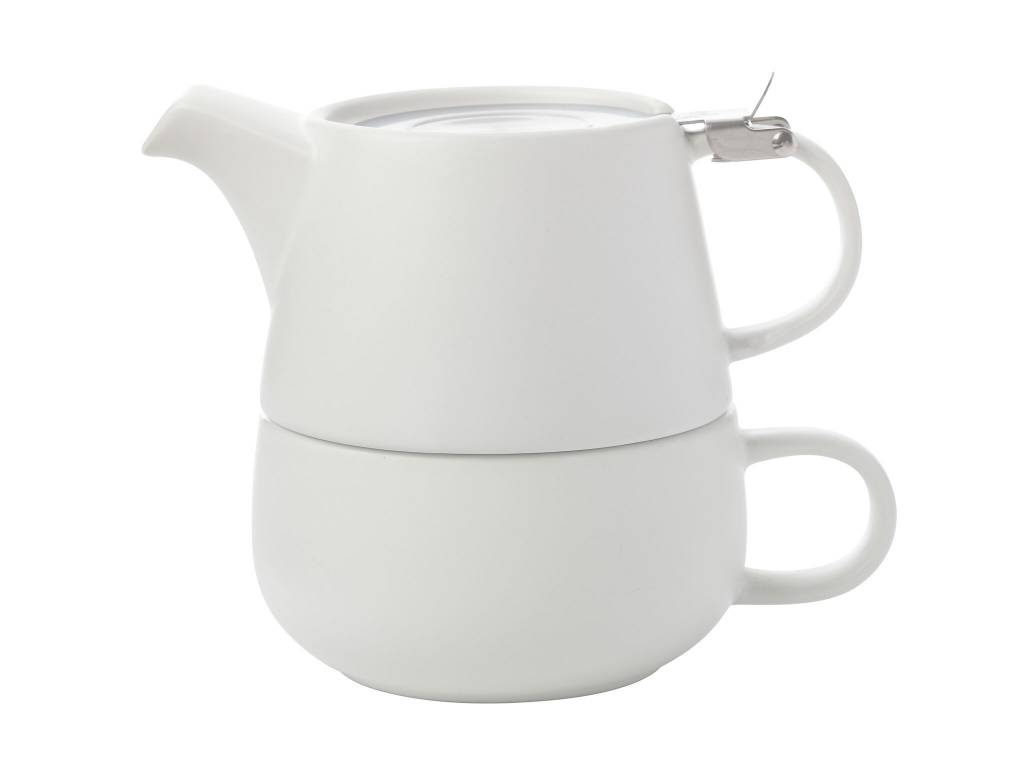 Maxwell & Williams White Solo Tea Set