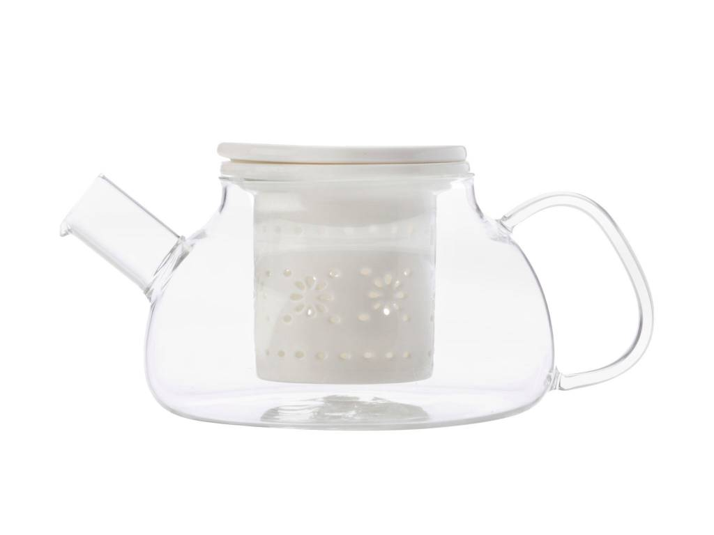 Maxwell & Williams Teapot and White Infuser