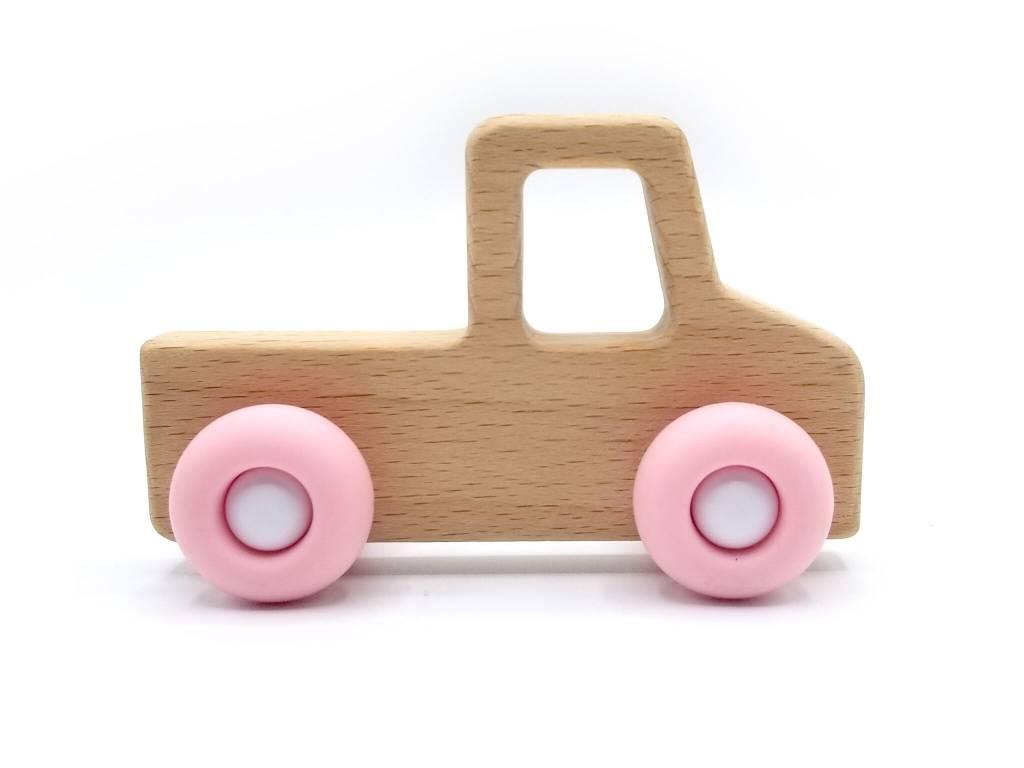 Pois et Moi Pink Pick-Up Truck