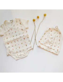 Haricot Short Sleeves Onesie - Color Choices