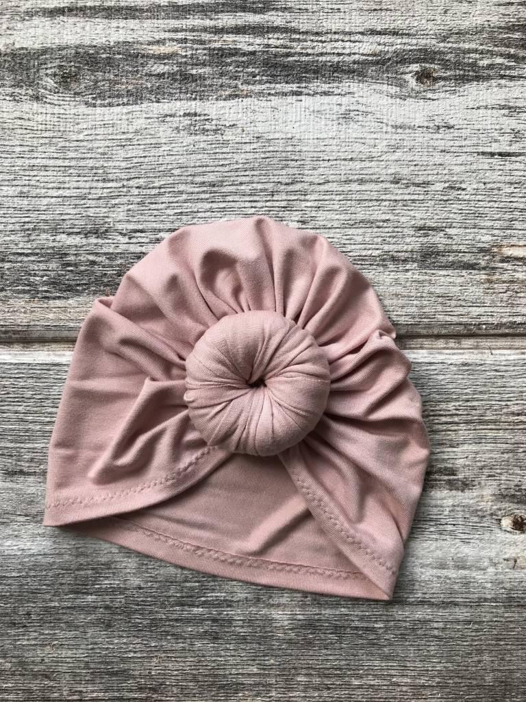 Mini Bretzel Premium Blush Turban - Color Choices