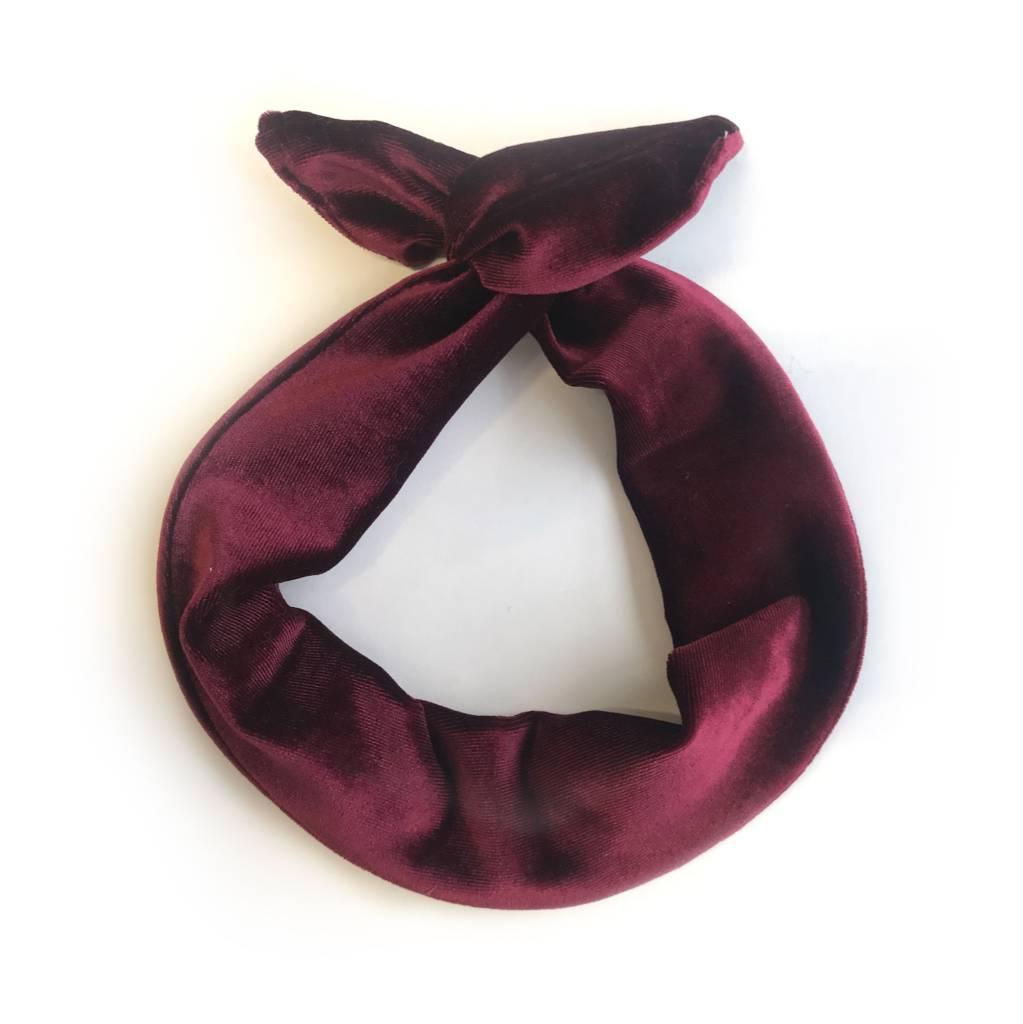 Gibou Velvet Twisted Headband - Color Choices