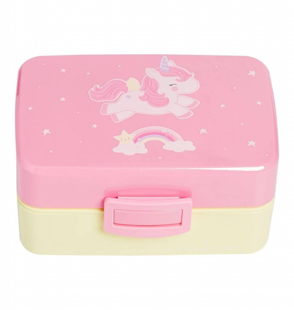 Little Lovely Boîte à Lunch Licornes