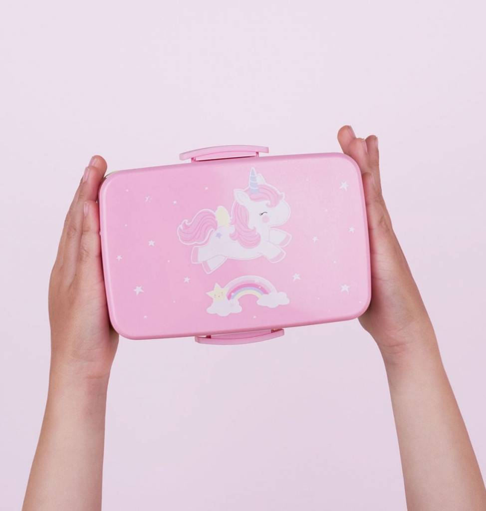 Little Lovely Unicorn Lunch Box