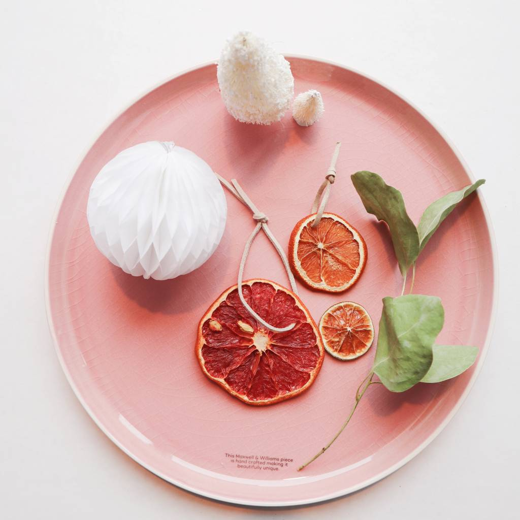 Maxwell & Williams Pink Stoneware Plate