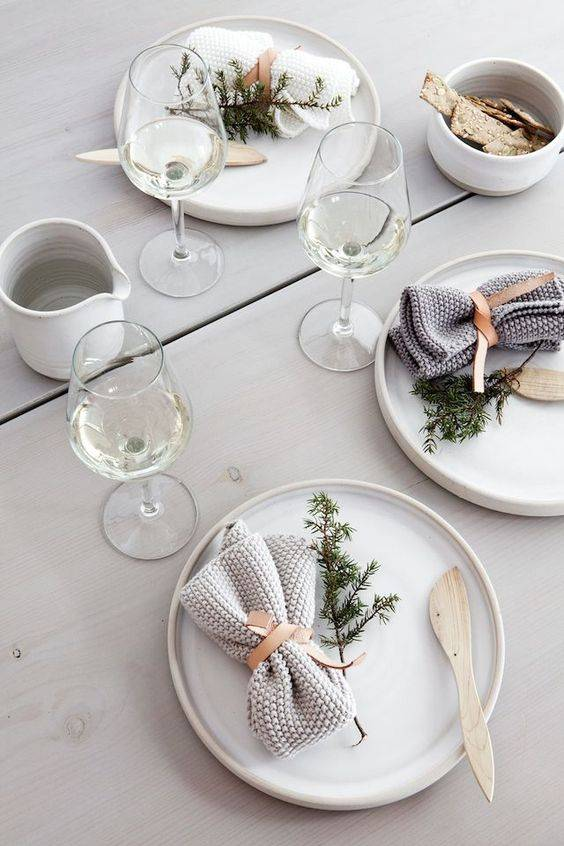 Setting the table for the Holidays