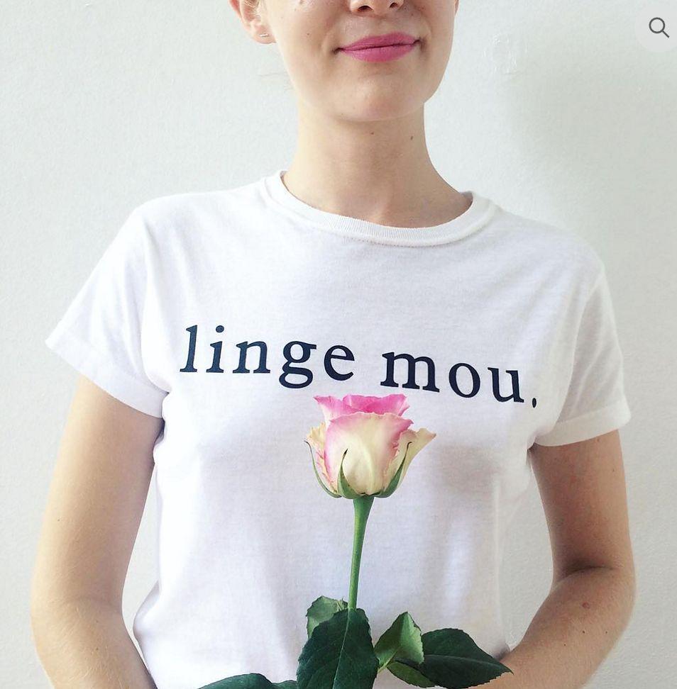 Les Beaux Jours Linge Mou T-shirt