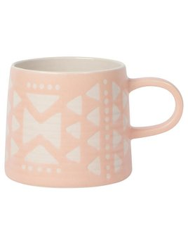 Danica/Now Pink Aztec Mug