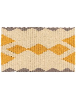 Danica/Now Ocher ZigZag Door Mat