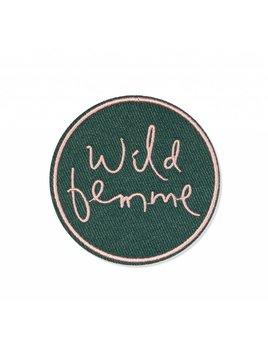 Fringe Studio Écusson Wild Femme
