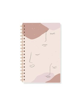 Fringe Studio Abstract Faces Notebook