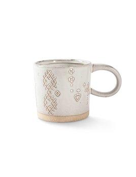 Fringe Studio White Artisan Mug