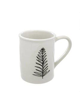 Indaba Botanical Leaf Mug