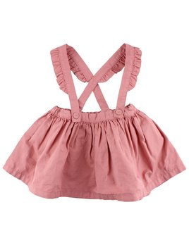 EN FANT Ash Pink Skirt and Suspenders