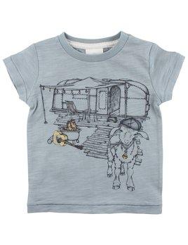 EN FANT T-shirt Chèvre en Camping