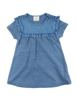 EN FANT Indigo Stripes Dress