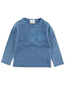 EN FANT Indigo Stripes Long Sleeve T-Shirt