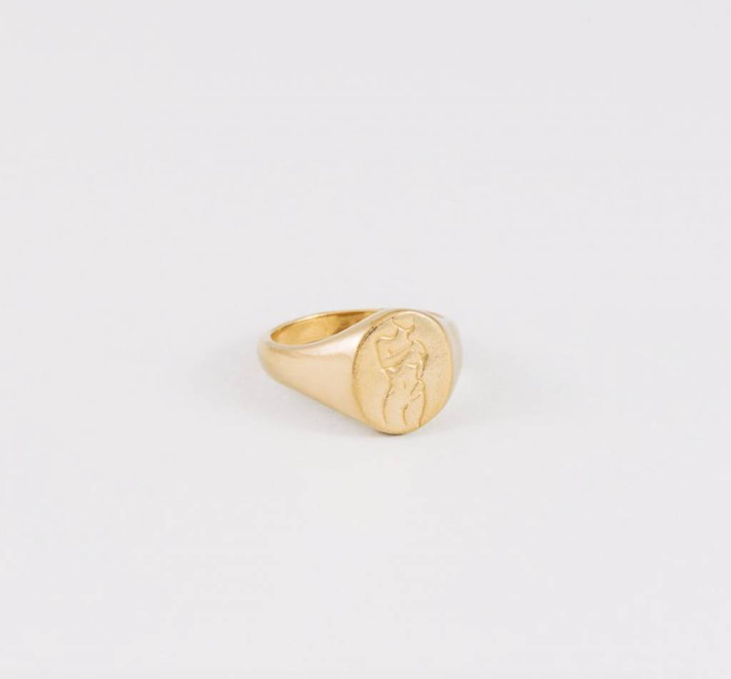 Wolf Circus Gold Femme Ring