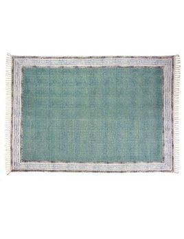 Indaba Amelie Turquoise Rug
