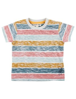 Small Rags Colorful Stripes Top
