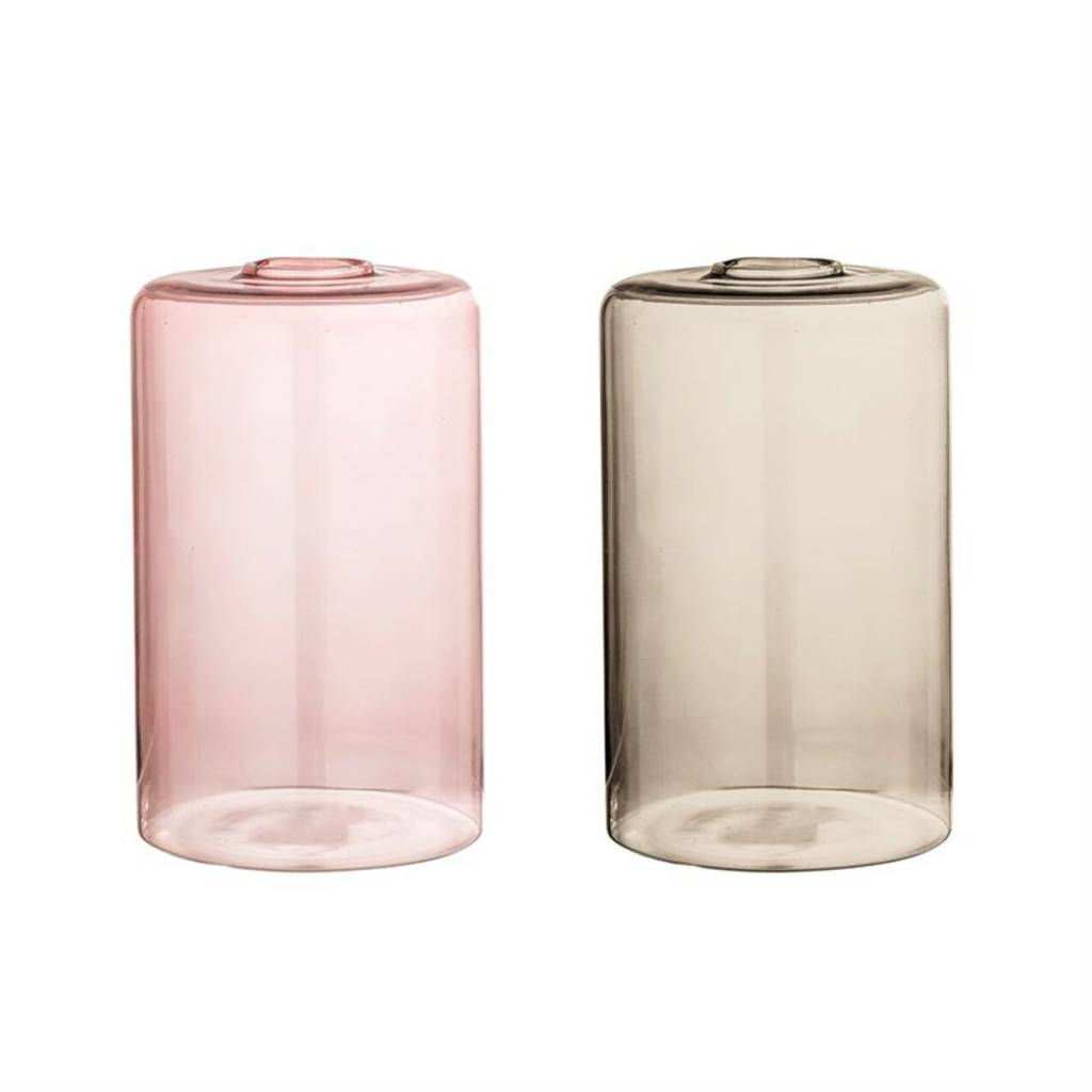 Bloomingville Minimalist Glass Vase - Color Choices