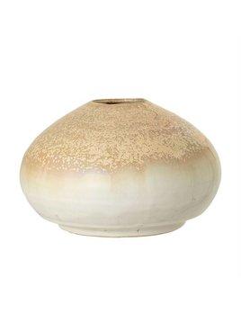 Bloomingville Creme Stoneware Vase