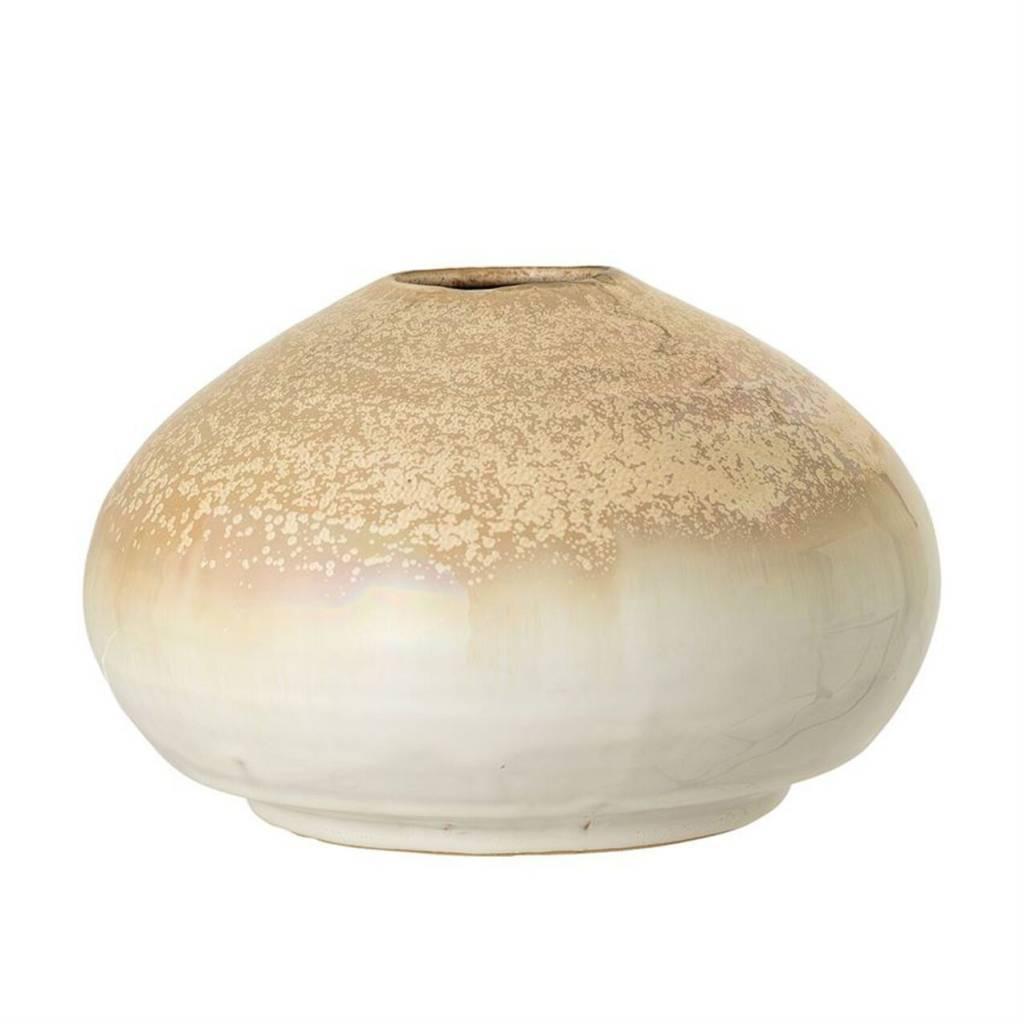 Bloomingville Vase Grès Crème
