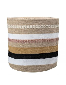 Bloomingville Multi-Color Woven Basket