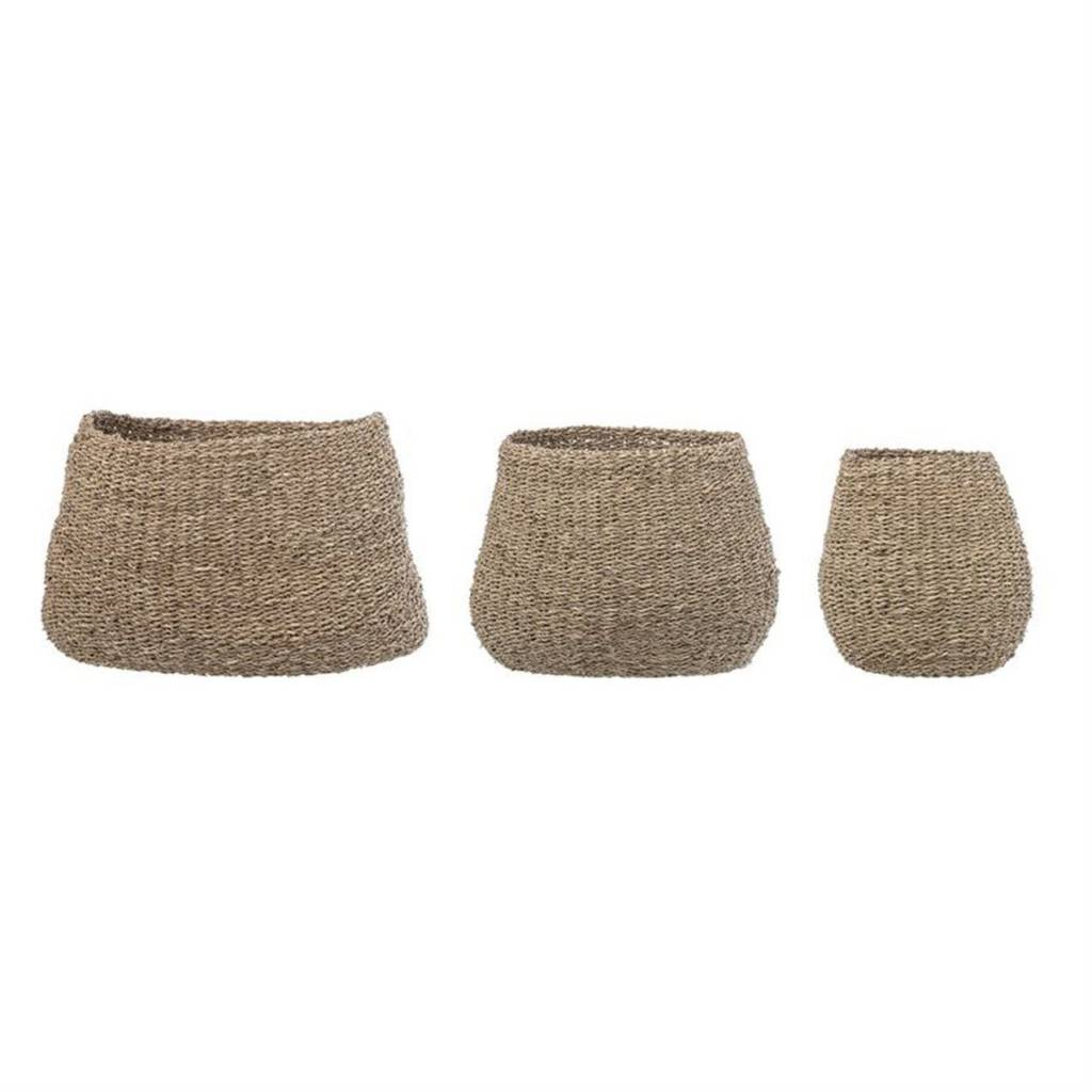 Bloomingville Natural Seagrass Baskets - Multiple Sizes