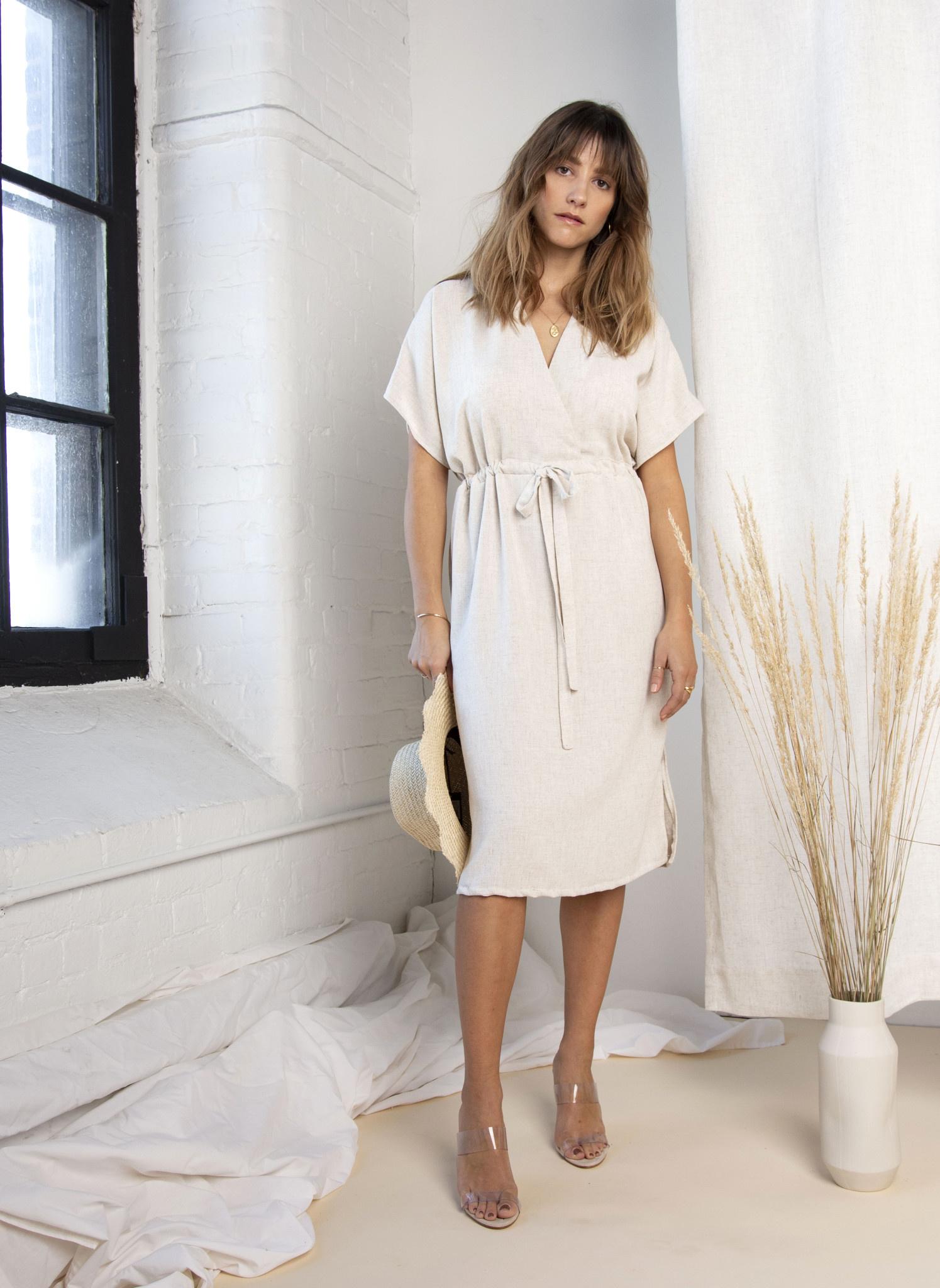 Essentiels Co Wrap Dress