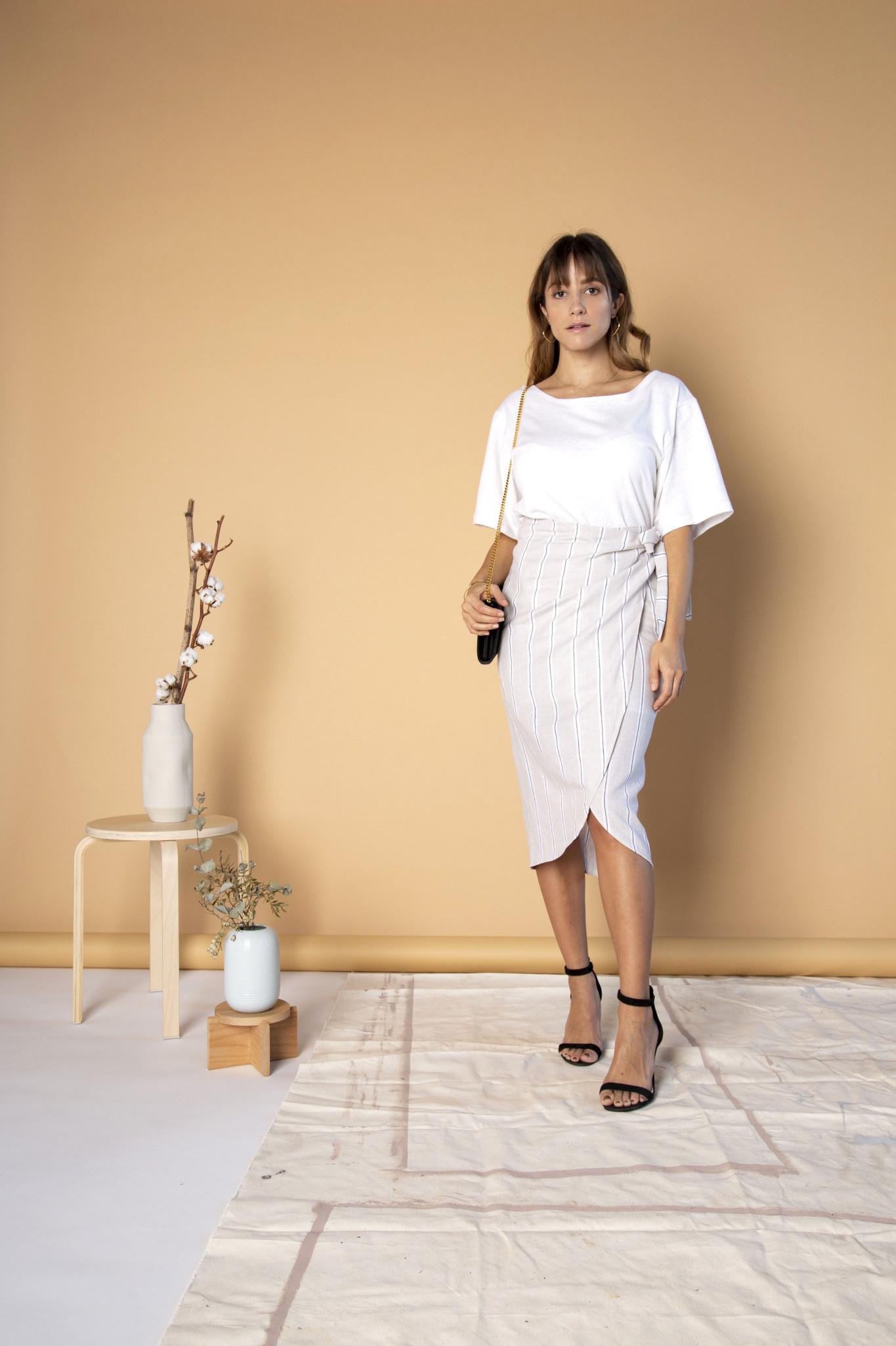 Essentiels Co Wrap Skirt