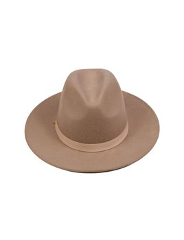 Lack of Color Taupe Frey Fedora