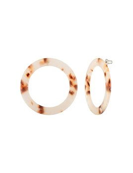 Machete Isla Blush Tortoise Hoops