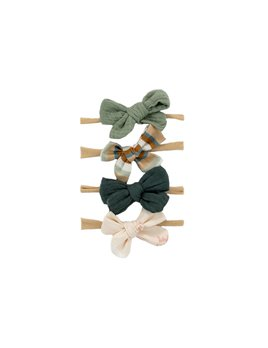 Bajoue Retro Bow Headbands Set