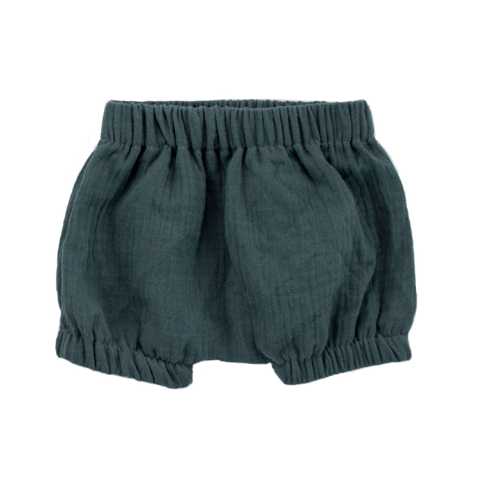 Bajoue Short Coton Indigo