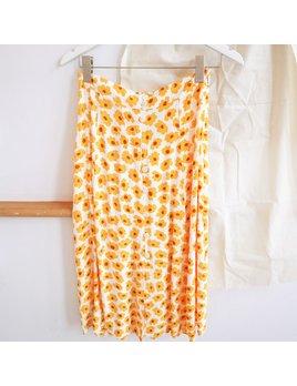 Faithfull Yellow Mellow Skirt