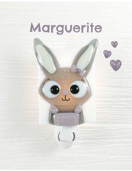 Veille sur Toi Veilleuse Marguerite la Lapine