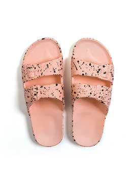 Freedom MOSES Pink Splatter Sandals