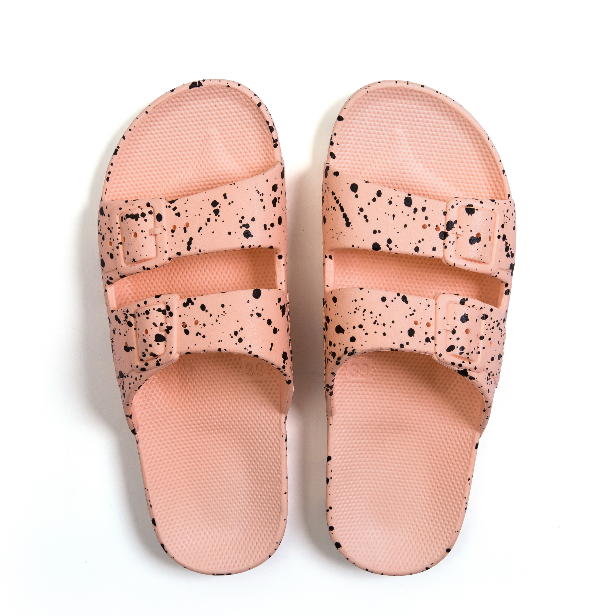 Freedom MOSES Pink Splatter Sandals