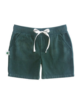 Inchworm Alley Forest Green Short
