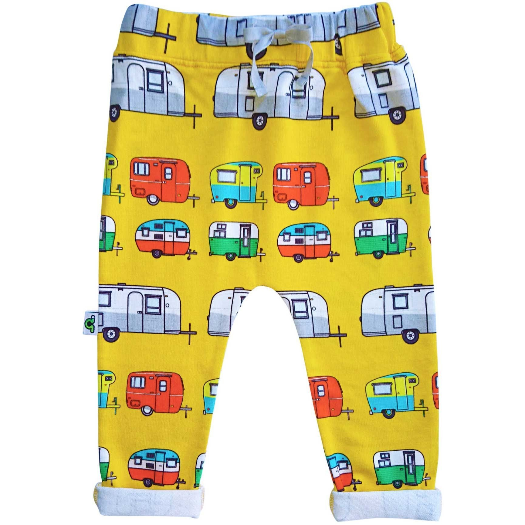Inchworm Alley Pantalons Jaune Roulottes