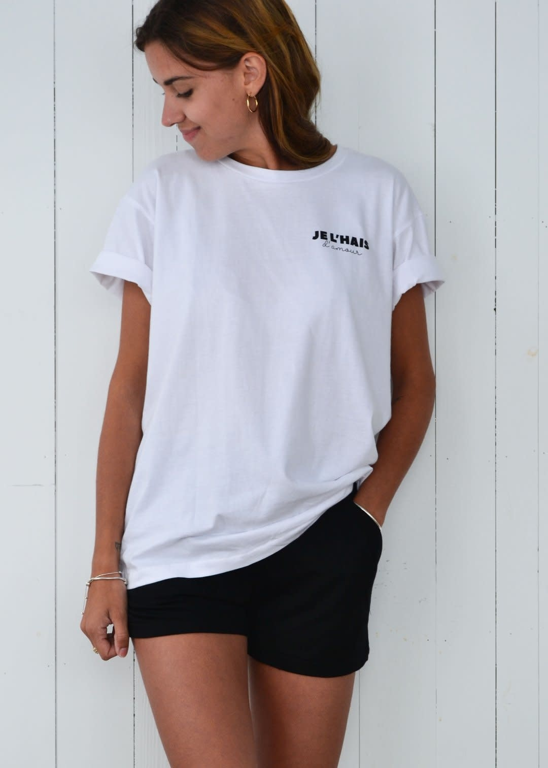 Dailystory Je l'haïs d'amour T-shirt