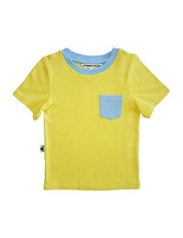 Inchworm Alley T-shirt Soleil Poche Bleue