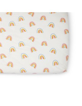 Petit Pehr Rainbow Crib Sheet