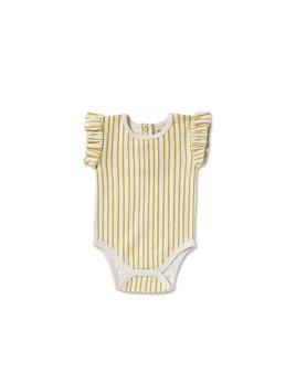 Petit Pehr Stripes Ruffle Romper